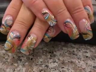 Маникюр.Красивый дизайн ногтей. Ногти супер!