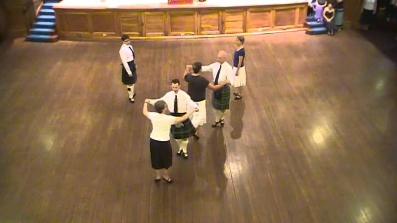 RSCDS Summer School 2010 w3 - The Flower of Glasgow - S32 3c set - RSCDS Bk. 46