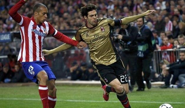 Атлетико легко разобрался с Миланом