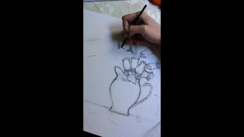 LoveMeLikeYouDo with charcoal stick 😇