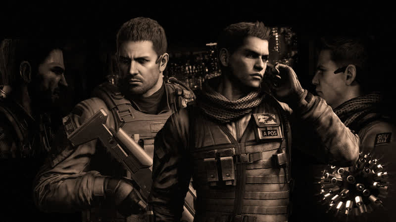 RESIDENT EVIL 6 - Chris Redfield and Piers Nivans | BSAA Tribute