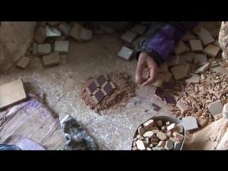 Как делают плитку в Марокко