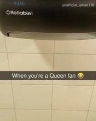 "9GAG: Go Fun The World on Instagram: ""When you're a Queen fan Congrats to @unofficial_aman on becoming our #9GAGFunOff Week 4 winner! - Submit your..."