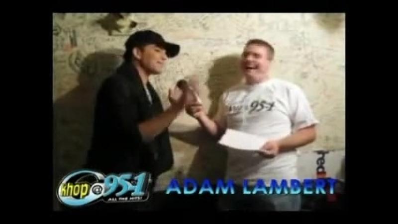 Adam Lambert talks Dusty Madrid - Kh0p Interview - 23/07/2010
