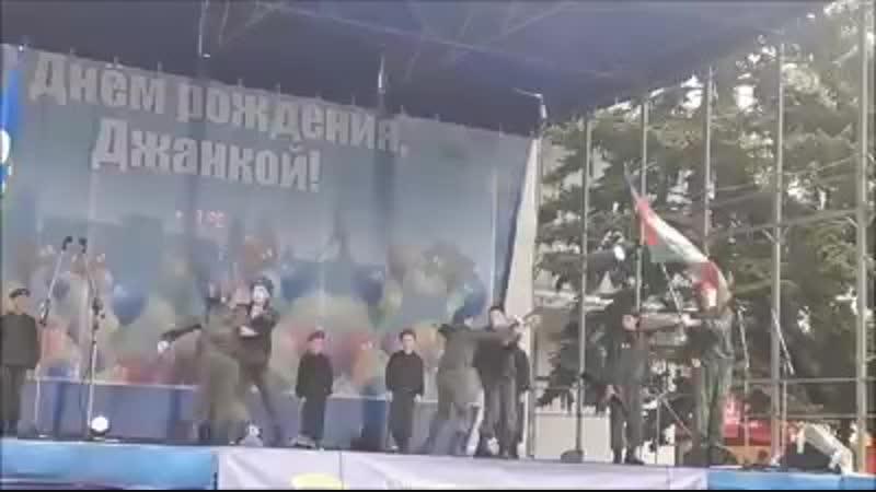 Джанкой, Крым, путинская россия из детей делает мразей. Ждите очередного керченского стрелка
