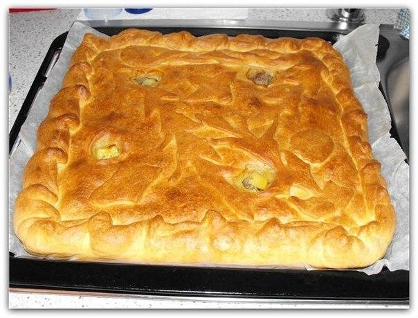 БЫСТРЫЙ И ПРОСТОЙ ПИРОГ С КАРТОШКОЙ И КУРИЦЕЙ! Если вы хотите побаловать своих мужчин, приготовьте для них вкусный простой пирог с картофелем и курицей :)) Готовится он в считанные минуты! К тому же этот пирог смело можно отнести к экономной выпечке! Он одинаково вкусный, как в горячем, так и в холодном виде :))) Читать дальше...➨