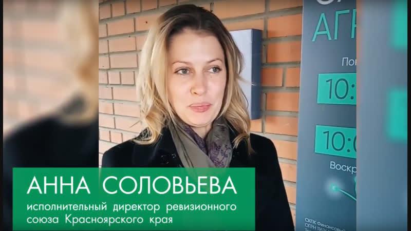 Анна Соловьева исполнительный директор Ревизионного союза Красноярского края