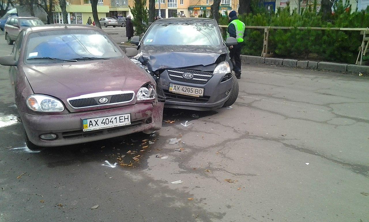 Харьковские торопыги не поделили елки (ФОТО)