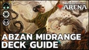 [MTG Arena] Abzan Midrange Standard Deck Guide Gameplay!