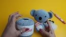 Crochetando com EuroRoma e Sandra Brum - Maxi Amigurumi Coala de Crochê