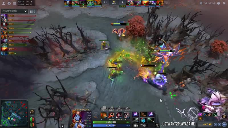 JustWant2PlayAGame ABED Signature Hero Meepo with Team Liquid in China Rank