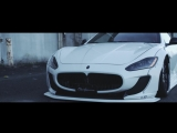 Maserati GranTurismo Liberty Walk Vossen x Work Wheels VWS-3