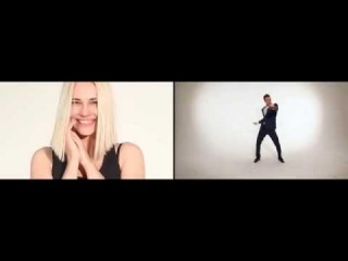 ��� ������� ������� � ����� |How girls and boys dancing|