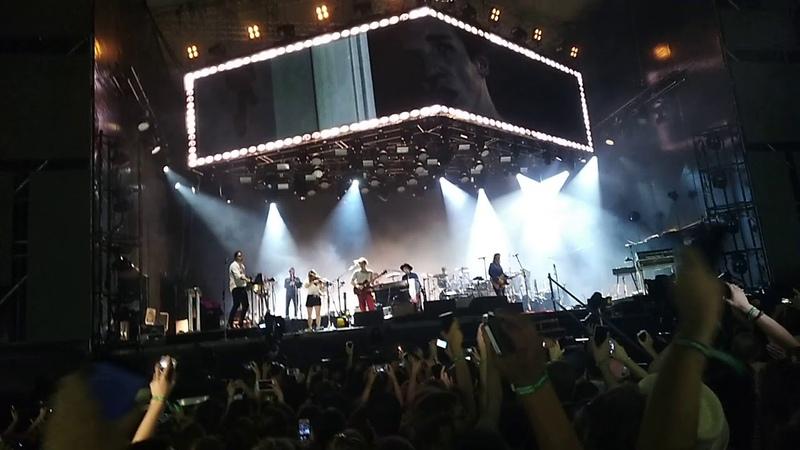 Arcade Fire - The Suburbs (fragment) Afisha Picnic Festival Moscow 4 августа 2018