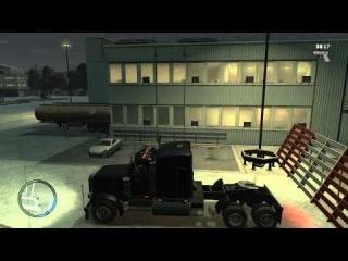GTA 4.Лучшие трюки каскадеров на фурах
