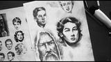 Как нарисовать портрет карандашом. 4 секрета штриховки для реалистичного рисунка!