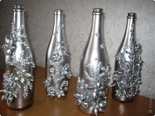Поделки из стеклянных камушек