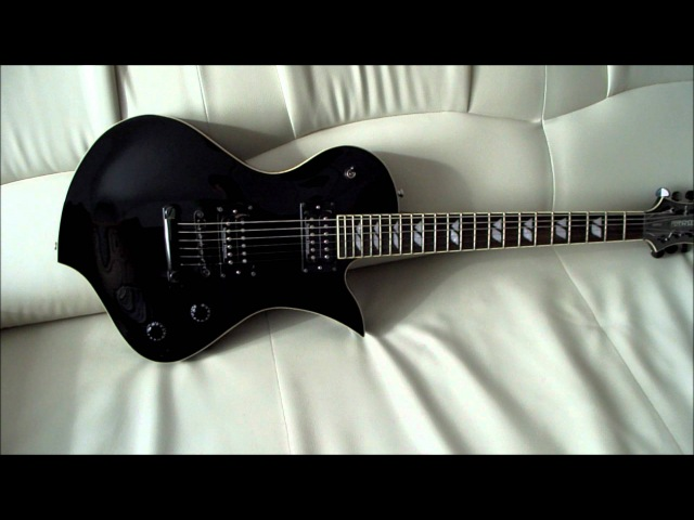 Fernandes Ravelle Deluxe guitar @ review / overview