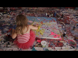 Aelita Andre - Prodigy of Colour 13 minute video HD