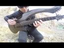 The Unforgiven Metallica Harp Guitar Cover Jamie Dupuis
