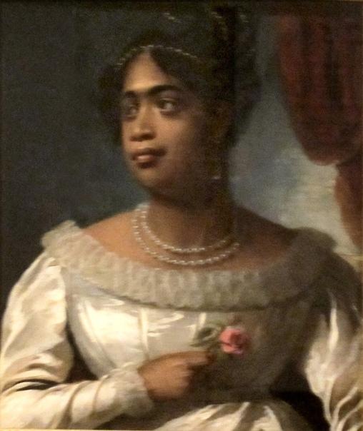 ЛУЧШИЕ ПОРТРЕТЫ КОРОЛЕВ. ( ч. 2) 7. amamalu Королева-консорт Гавайях Джон Hayter, 1824 Этот портрет висит во дворце Айолани в Гонолулу, он, как свидетельство как очень короткого правления и