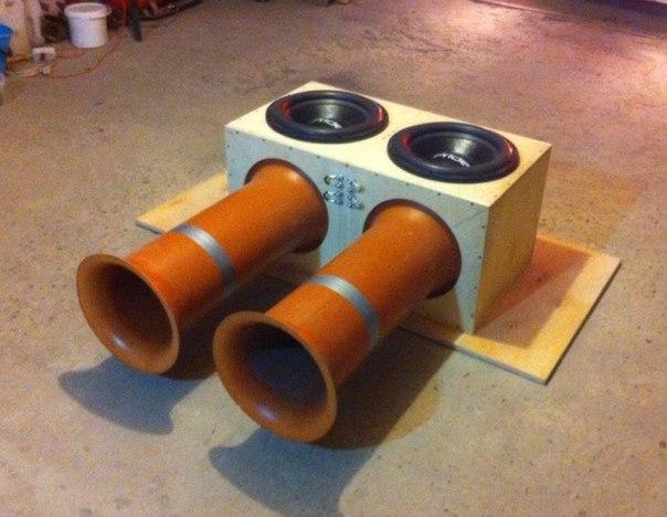 Трубы для фазоинверторов своими руками