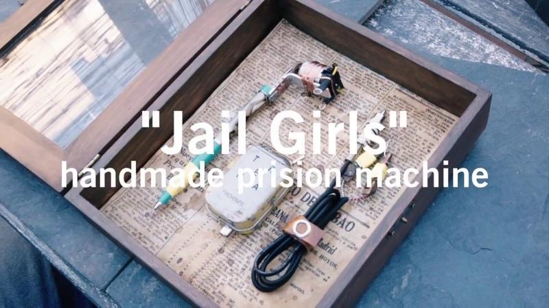 Trenamachines - Jail style tattoo machine