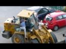 Пьяные покатушки на тракторе