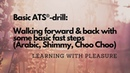 Basic ATS®-drill: Walking forward back with some fast steps