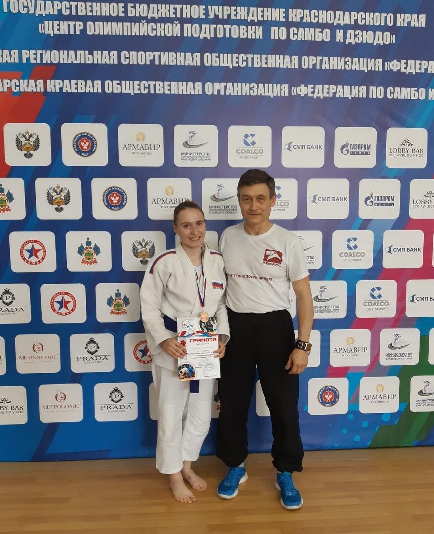 Таганрогская спортсменка заняла третье место на Всероссийских соревнованиях по дзюдо