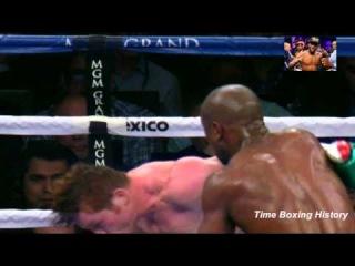 Мировой Бокс.Флойд Мейвезер vs Сауль Альварес.Лучшие моменты боя.Эпизод 1