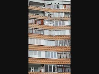 Действия МЧС на ул. Рокоссовского, 10 (31.10.2018)
