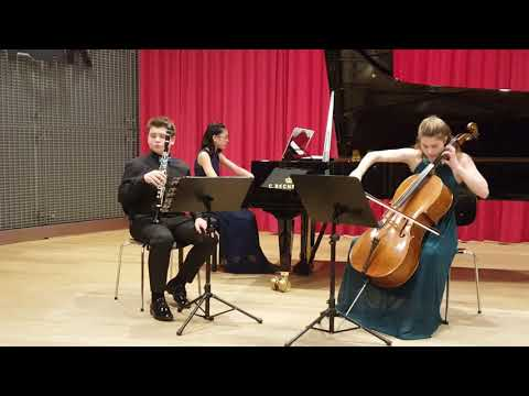 Eight Pieces for Clarinet, Cello and Piano, Op.83 by Max Bruch: Andante-Allegro con moto