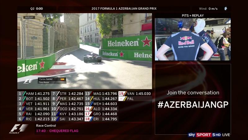 F1 2017 - R08 Azerbaijan - Quali Pitlane