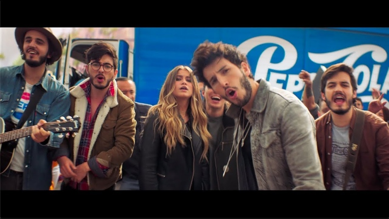 ¡Nueva canción de Sebastian Yatra, Morat y Sofia Reyes! Joy Of Pepsi.