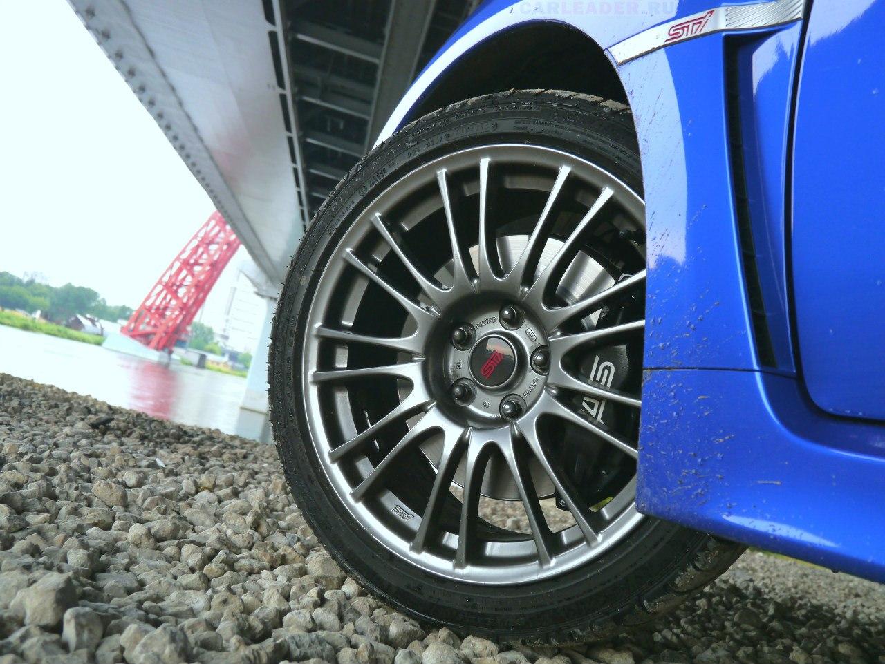 Brake system WRX STI 2013