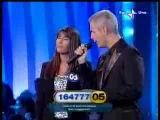 Alessandro Safina con Stefania Miotto   La vedova Allegra Rai tv
