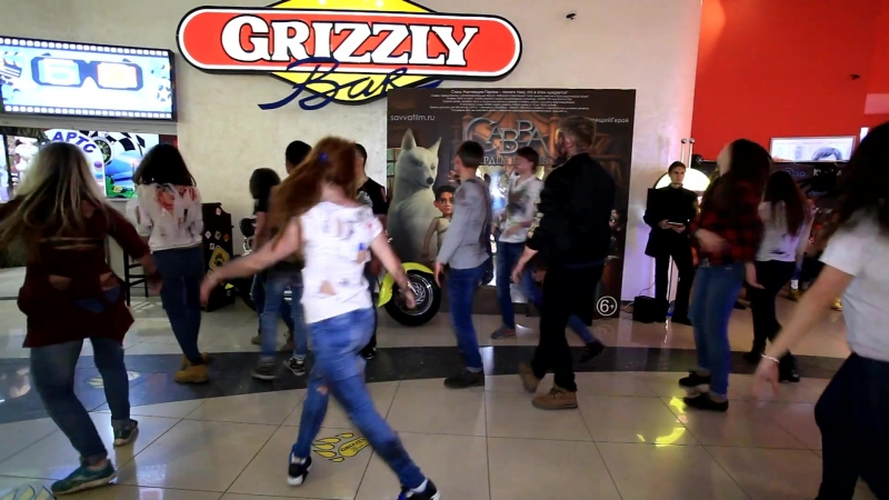 "Flashmob VIRION zombie (Фильм _""Вирион_"" в кино с 23 марта)"