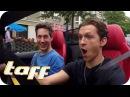 SPIDERMAN hat ANGST vor SPINNEN Tom Holland bei Stars in Cars taff ProSieben