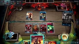 Матч в Artifact от разработчиков Valve