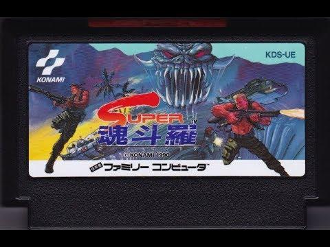 Super C NES Famicom 1990 Fail Contra 1988 5 кругов