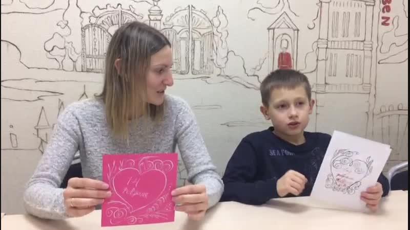Каллиграфия в IQ клубе Открытый урок для родителей