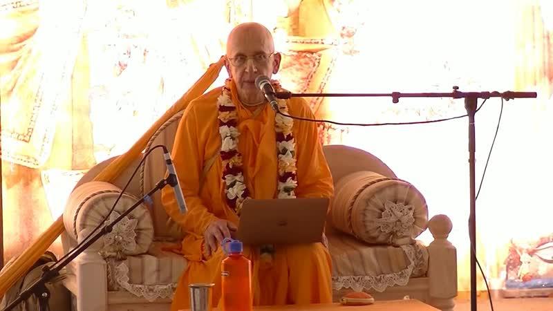 Е.С. Махадьюти Свами - О внимательности во время джапы (Ответы на вопросы)