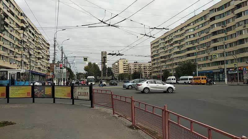 пр.им.Ленина-ул.Краснознаменская (направление в сторону Ворошиловского района)