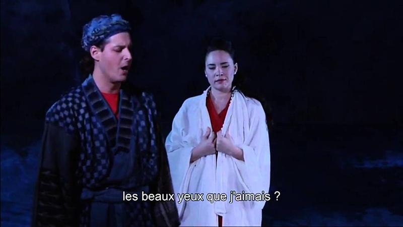 Dmitry Korchak Sonya Yoncheva Les Pêcheurs de Perles l'Opéra Comique