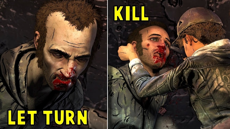 Mercy Kill Abel vs Let Him Turn into Walker - The Walking Dead The Final Season Episode 3