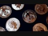 СЕРЕБРЯНАЯ МОНЕТА СОКОЛ ПЛАНТАГЕНЕТОВ - СУПЕР НОВИНКА! FALCON OF PLANTAGENETS 2 oz silver coin