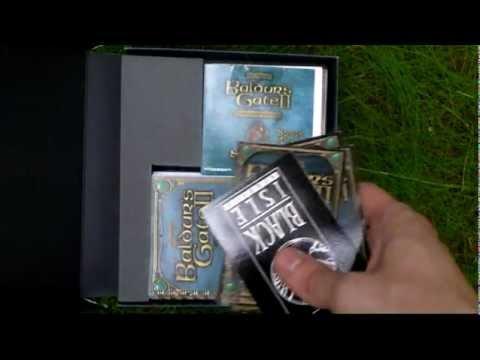 Baldurs Gate II Shadows of Amn Collectors Edition Unboxing (PC) ENGLISH