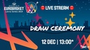 LIVE 🔴 - Draw Ceremony - FIBA Women's EuroBasket 2019