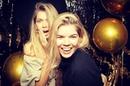 """Vera Brezhneva on Instagram """"Праздник у девчат сделали День Рождения @sonyaxkiperman 💃🏼🔥 party 18 И мы с сестрой теперь домой 🚀"""""""
